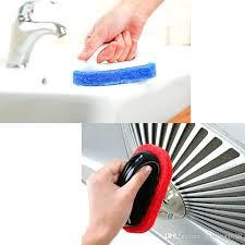 bathtub cleaning brush function kitchen bathroom sponges brushes sponge ceramic tile wall glass cleaner from target bathtub cleaning brush