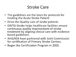 Quality of Care for Stroke Patients - ppt video online download