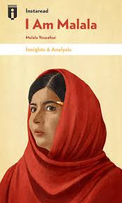 book cover for i am malala