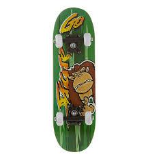 Купить <b>Скейтборд</b> детский <b>MaxCity Monkey</b> за