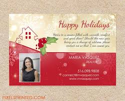 Card Invitation Design Ideas: Realtor Holiday Postcards Realtor ...