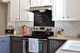 Dark Gray Cabinets Kitchen Grey And White Kitchen Makeover Remodelaholic Bloglovin