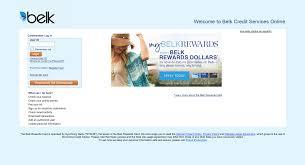belk credit card payment