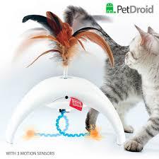 "<b>GiGwi игрушка</b> интерактивная для кошек ""Фезер Спиннер"", перо ..."