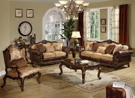 Living Room Design With Brown Leather Sofa Brown Leather Living Room Furniture Luxhotelsinfo