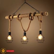 frequently bought together rustic rope bamboo pendant light metal cage lamp shade industrial chandelier