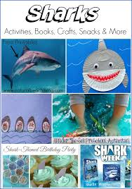 shark week crafts and activities for
