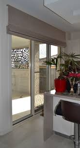 roman blinds can be made up to 3mtrs wide with a headrail system sliding door window treatmentssliding