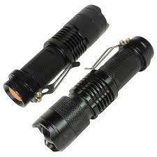 Surebilt Led Light 2 Pack Tactical Cree Led Flashlight 300 Lumen Ultra Bright Tiny Torch 3 Modes