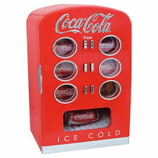 Retro Soda Vending Machine Extraordinary Coca Cola 48Can Retro Vending Fridge Walmart