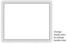 Certificate Border Vector Free Vector In Adobe Illustrator