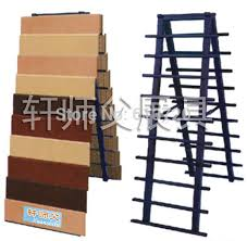 Rug Display Stand 100 Layers Wall Tile Display Stand Wooden Floors Exhibition Rack 34