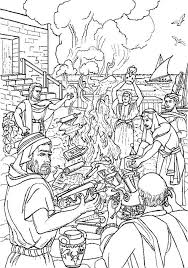 Kleurennu Paulus Verbrandt Heidense Voorwerpen Kleurplaten