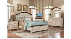 Berkshire Lake White 7 Pc Queen Panel Bedroom - Casual
