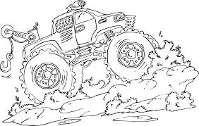 26 Dessins De Coloriage Monster Truck Imprimer