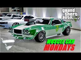 Gta Muscle Car Mondays Open Lobbies Old School Racing