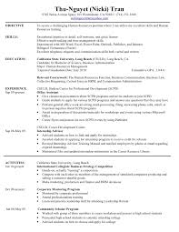 what resumes hr resume