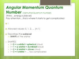 Quantum Mechanics & Electron Configuration Chapter 5: Electrons in ...