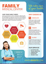 doctor template free download health information flyer template professional doctor templates