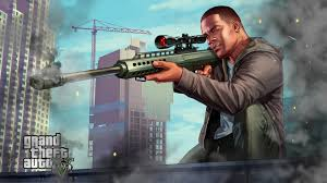 gta 5 franklin sniping chromebook wallpaper