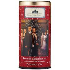 downton tea bags set