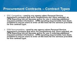 Procurement Contracts Training