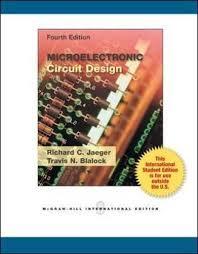 Microelectronic Circuits Ise Microelectronic Circuit De