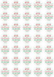 Youre Awesome For Supporting A Small Business This Christmas This Stickers 37mm Matt Paper