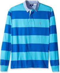 gant men s stripe rugby shirt nautical blue 4xl