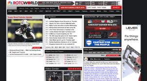Rotoworld Depth Chart Welcome To Rotoworld Com Rotoworld Fantasy Sports News And