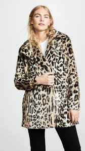 s stone belted sleeveless blazer 61585ol237 jackets coats blue vanilla white leopard print faux fur coat the look faux fur the 2017 winter essential