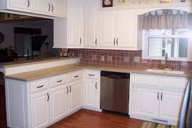 Stylish Kitchen Cabinets Kitchen Painted White Kitchen Cabinets With Stylish Kitchen