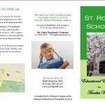 Examples Of School Brochures Sample School Brochure School Brochures