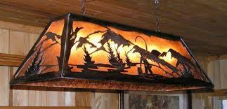 rustic pool table light fixtures light fixtures