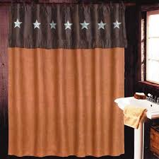 Texas Star Bathroom Accessories Rustic Shower Curtains