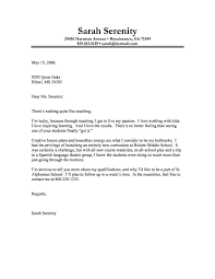 Cover Letter Samples For Highschool Students With No Work Experience