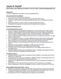 Interpersonal Skills Resume Account receivable resume shows both technical and interpersonal 94