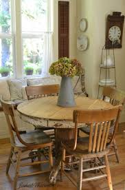 Best  Rustic Round Dining Table Ideas On Pinterest - Rustic farmhouse dining room tables