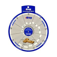 Details About Kreg Ssw Screw Selector Wheel Thickness For Kreg Jig K3 K4 K4ms K5 And R3