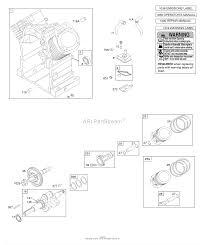 Briggs and stratton 3034471377e1 parts diagram for camshaft