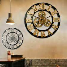 60cm outdoor garden large wall clock