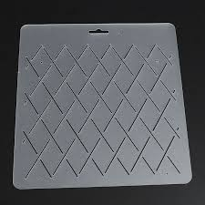 KiWarm DIY Semi transparent Rhombus Shape Stencil Plastic Quilting ... & aeProduct.getSubject() Adamdwight.com