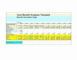 Cost Analysis Template Excel Unique Excel Template For Project Unique Cost Analysis Format