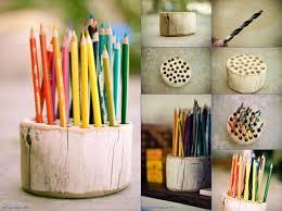 creative ideas home. Rustic Pencil Holder Creative Ideas Home