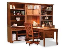office wall desk. Aspen 7 Pc. Office Wall Desk