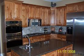rustic cherry kitchen cabinets.  Kitchen Rustic Cherry Wood Kitchen Cabinets Luxury Sofa Magnificent  Intended N