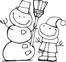 Small Picture Free Snowman Coloring Pages For Kids Winter Coloring pages of