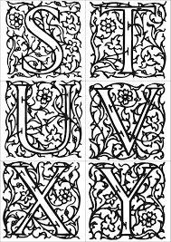 Coloring Book Leaf Pattern L L L L L L L L Duilawyerlosangeles