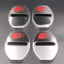 4pcs Lot Car Styling Stainless Steel Car Covers Door Lock Cover