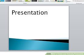 How To Create Less Annoying Powerpoints 11 Steps With Pictures